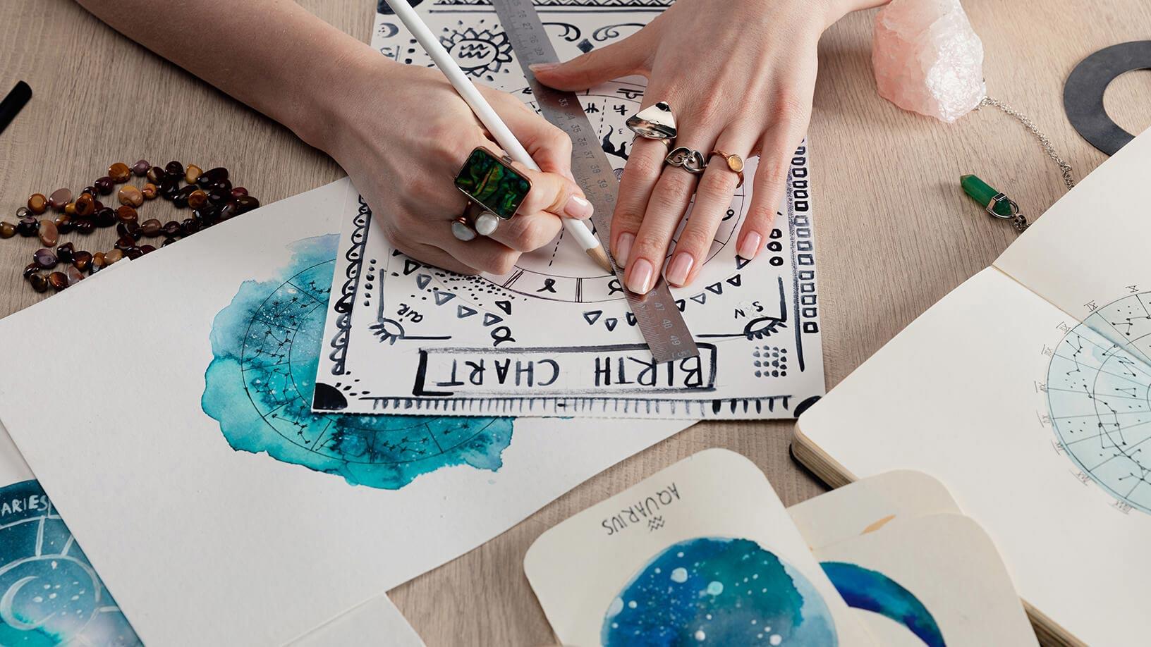 Entdecke das Geheimnis deines Geburtshoroskops   Horoskop.de